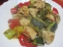 sauté de dinde aux restes de légumes + photos. Img_4723