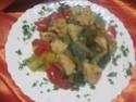sauté de dinde aux restes de légumes + photos. Img_4724