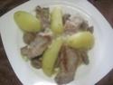 Chou blanc à l'émincé de porc.photos. Img_4767