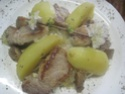 Chou blanc à l'émincé de porc.photos. Img_4768