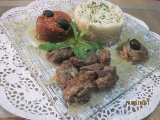 Viande à bourguignon au massalé. + photos. Viande10