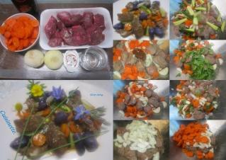 Viande à Bourguignon aux légumes et céleri. + photos. Viande11