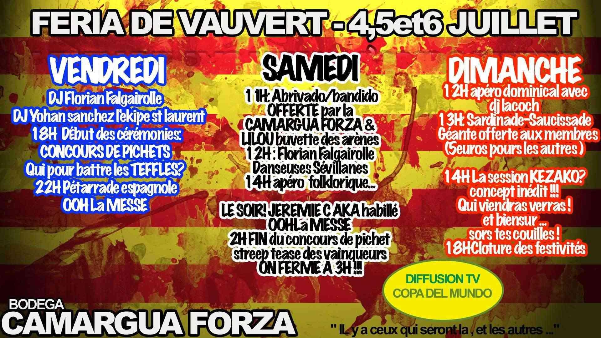 FERIA DE VAUVERT 2014    4 / 5 / 6 juillet 10403810