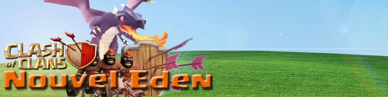 Nouvel Eden - Clash of Clans