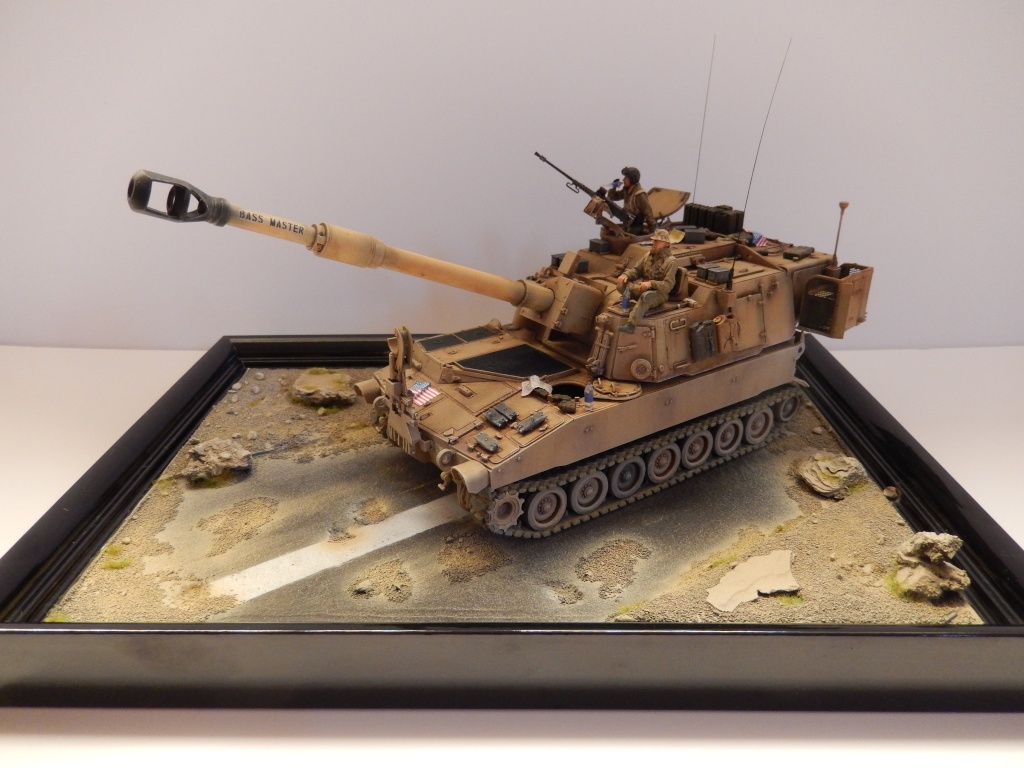 M109A6 Paladin 1/35 AFV Club [Ultronix] Dscn3210