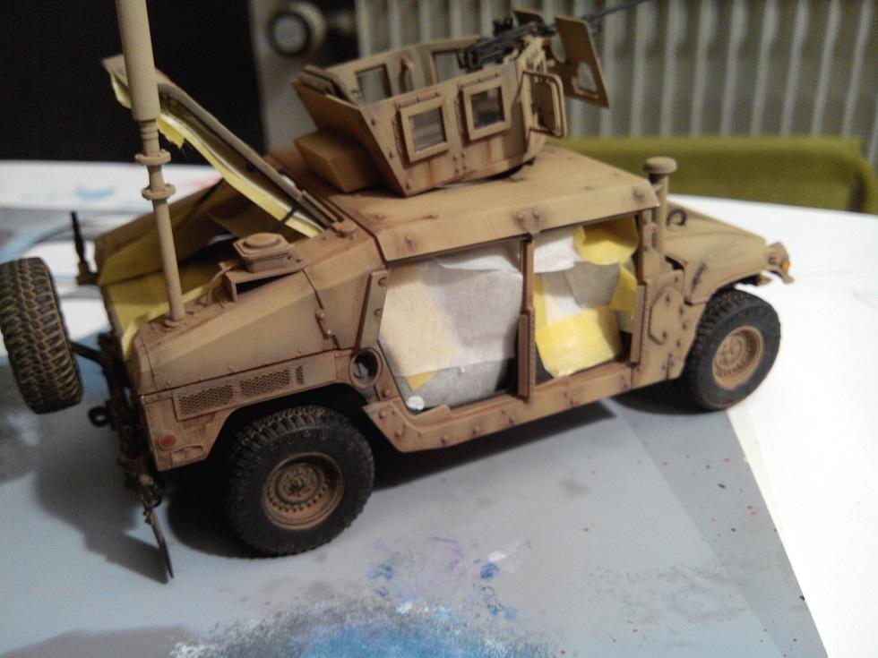 Humvee M1151 Academy 1/35 [Ultronix] - Page 2 Img_2071