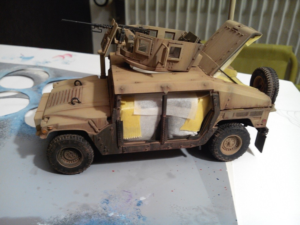 Humvee M1151 Academy 1/35 [Ultronix] - Page 2 Img_2072