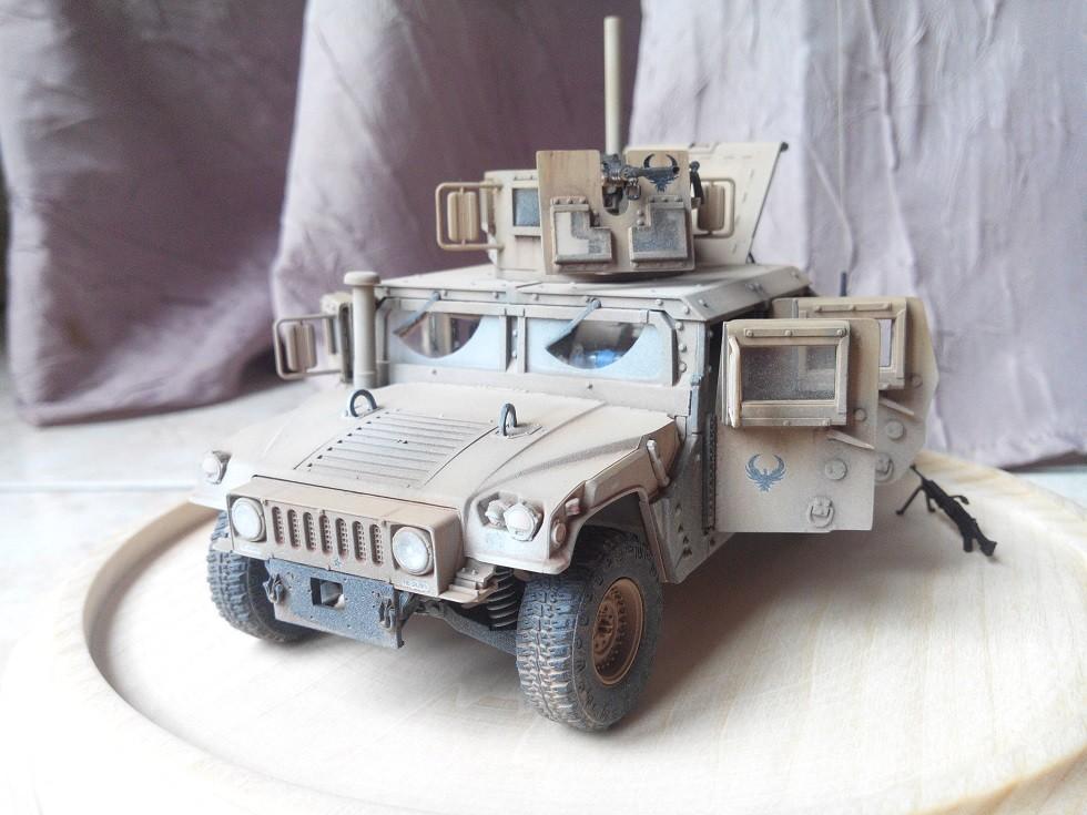Humvee M1151 Academy 1/35 [Ultronix] - Page 2 Img_2075