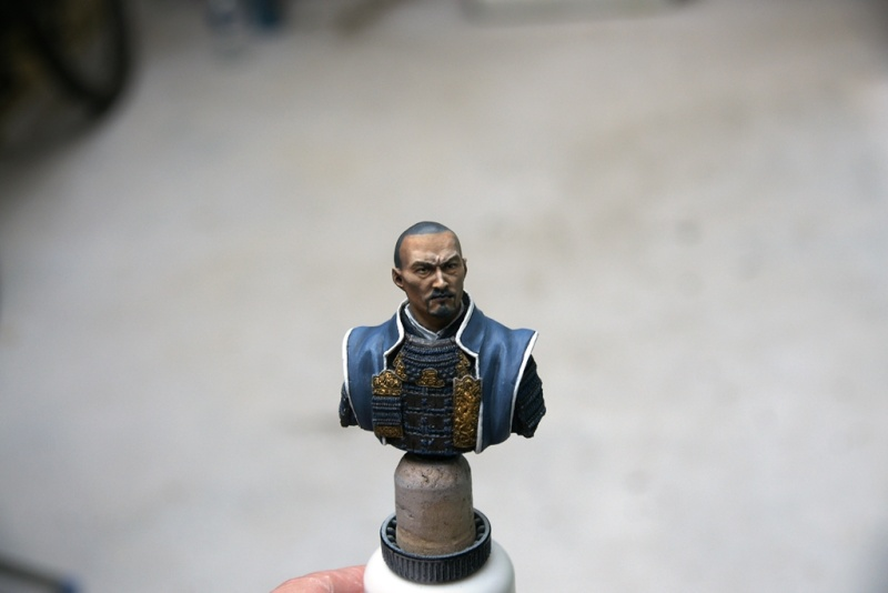 buste de Samouraï - Ares Mythologic  1 :12 Dsc05113