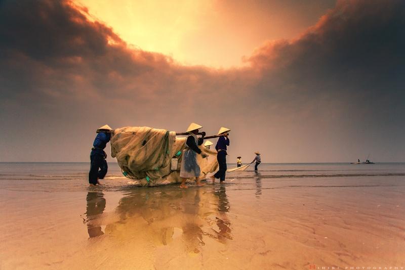 la vie de pêcheur de province Mui Ne - Vietnam 64729_10