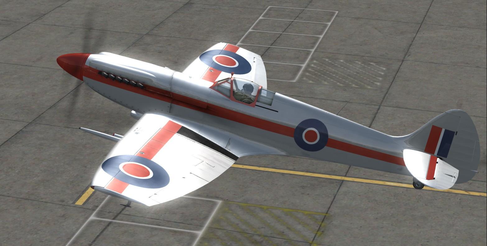 Convoyage retour en bombardiers Spit-110