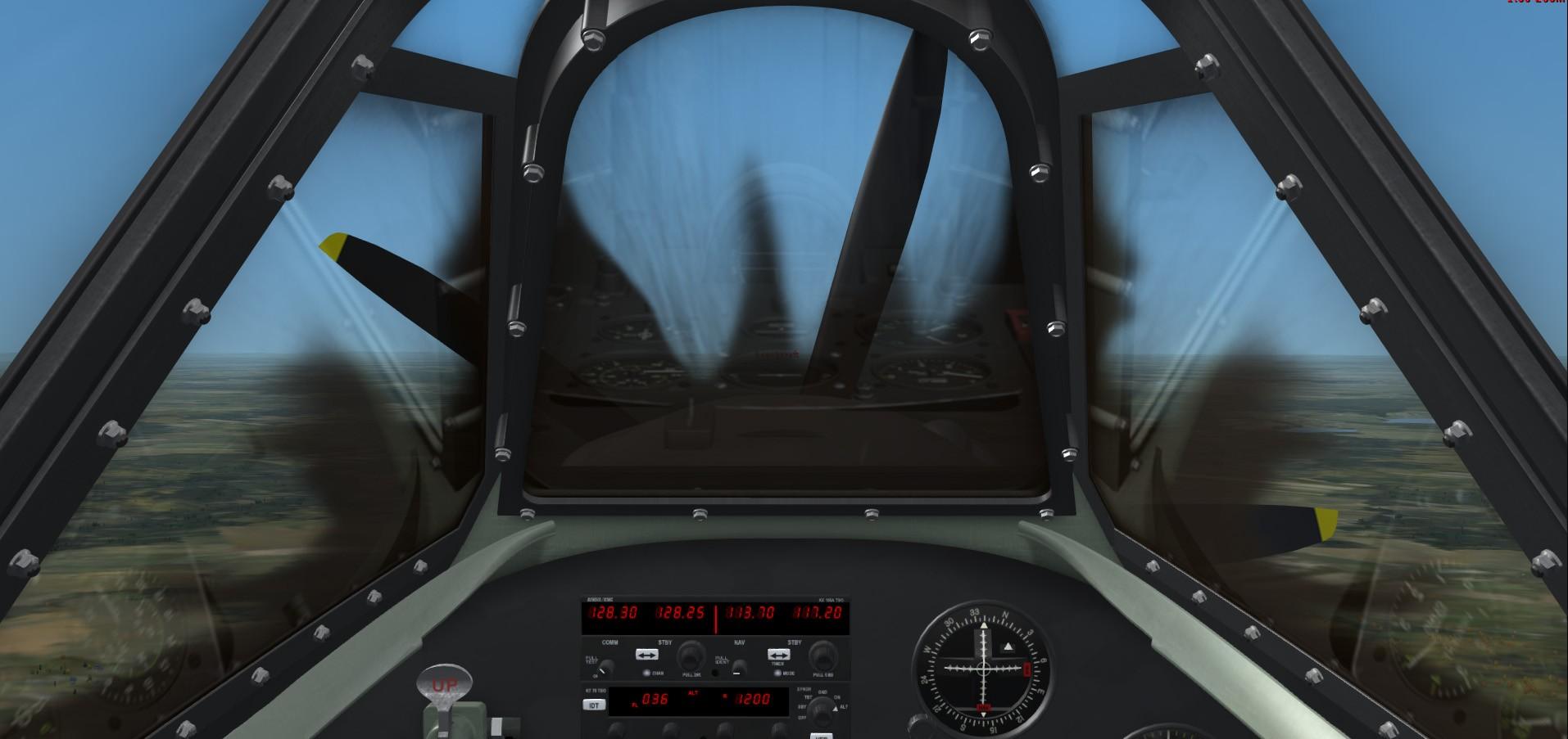 Convoyage retour en bombardiers Spitfi11