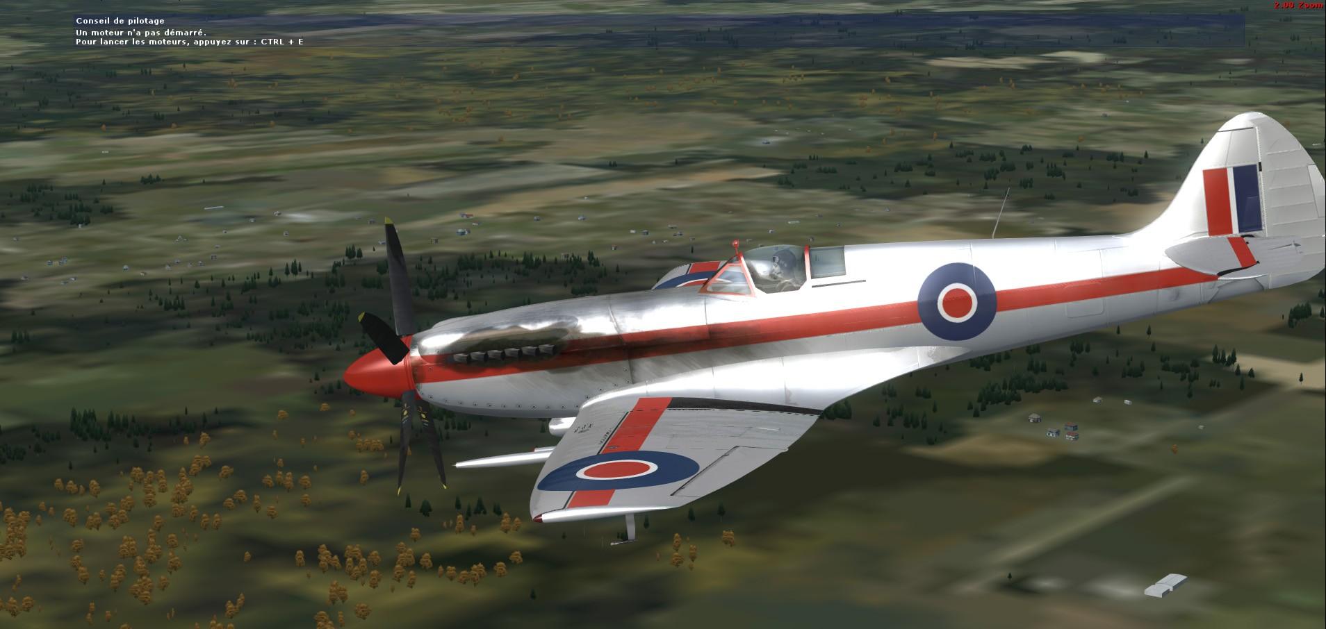Convoyage retour en bombardiers Spitfi12