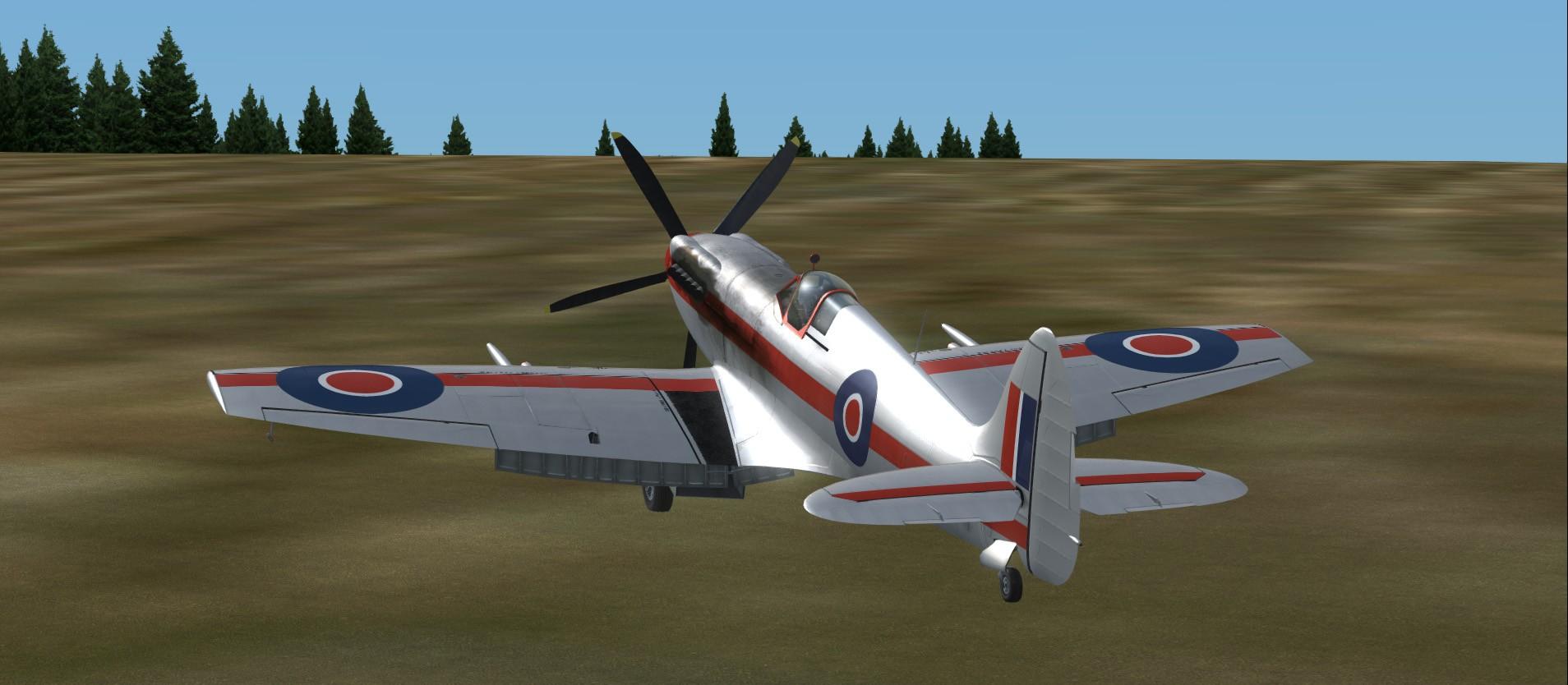 Convoyage retour en bombardiers Spitfi13