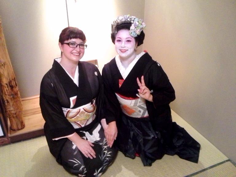 Tea ceremony schools and kitsuke for tea! 20140810