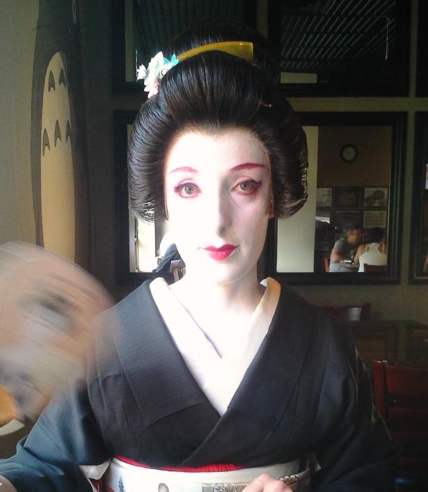 Tea ceremony schools and kitsuke for tea! 20140811