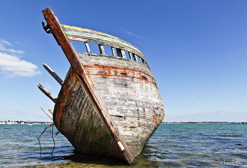 Fin de vie .... Cimetières de bateaux .... - Page 3 Gaivre11