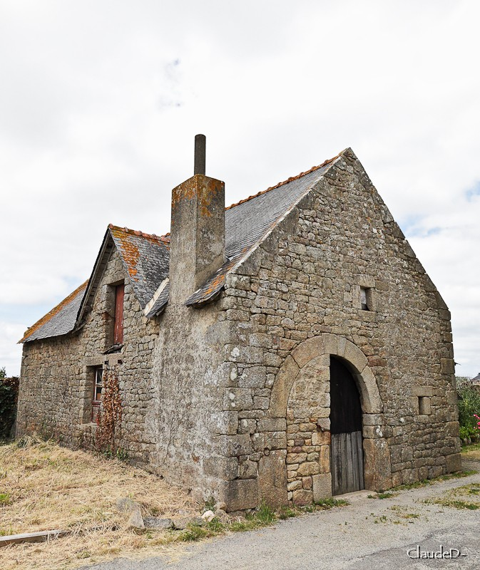 erdeven - Chapelle St Germain à Erdeven (56) Stger10