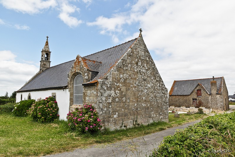 erdeven - Chapelle St Germain à Erdeven (56) Stger110
