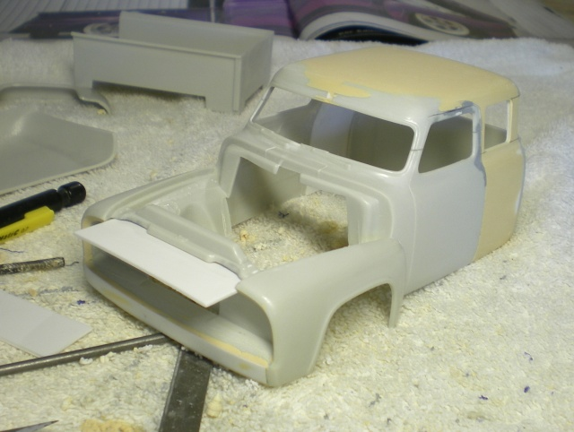 FORD 53 F100 PICK-UP terminé 01310