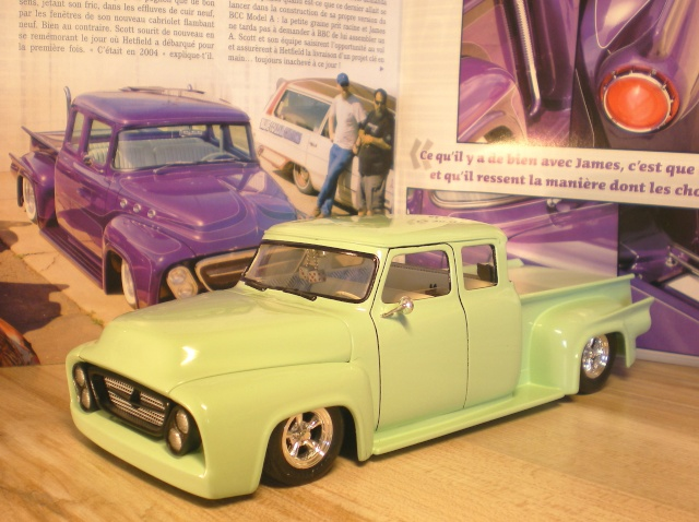 FORD 53 F100 PICK-UP terminé 08210