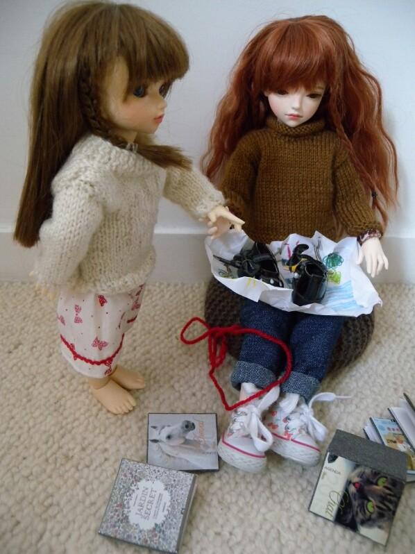 Le cadeau : Yumi et Océane 2110