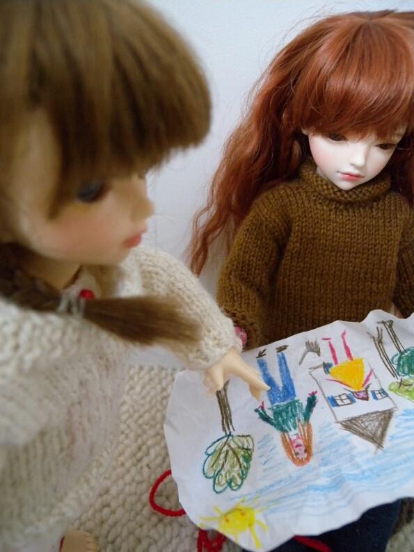 Le cadeau : Yumi et Océane 2310