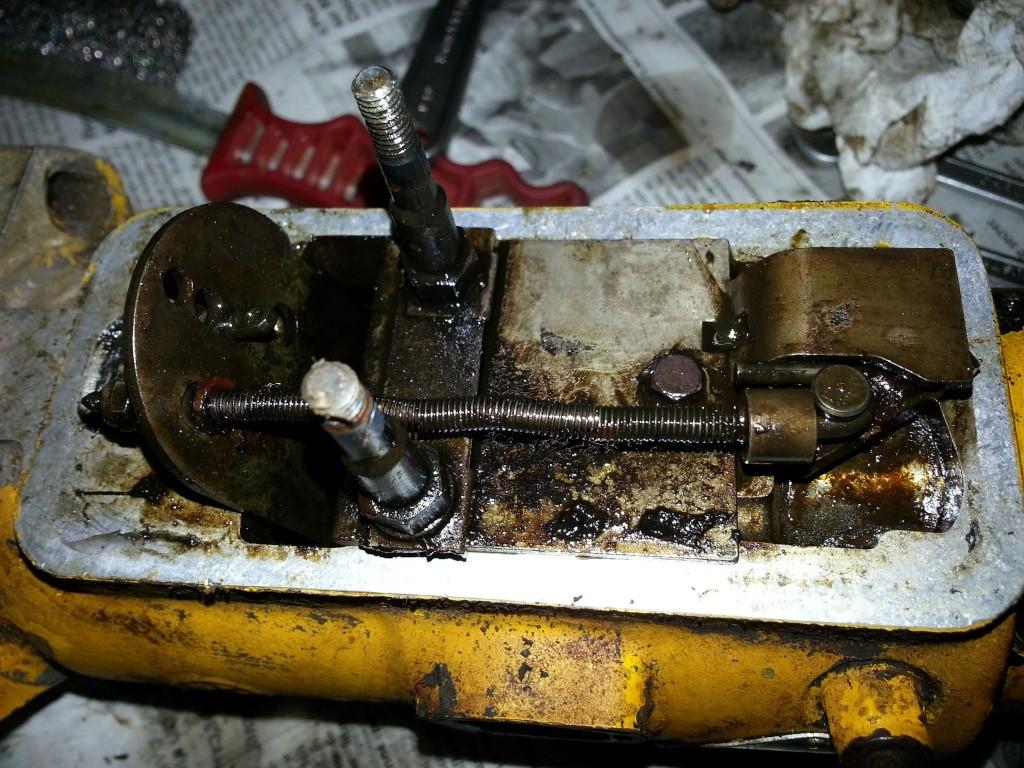 Restauration Tractopelle John Deere JD410 20140632