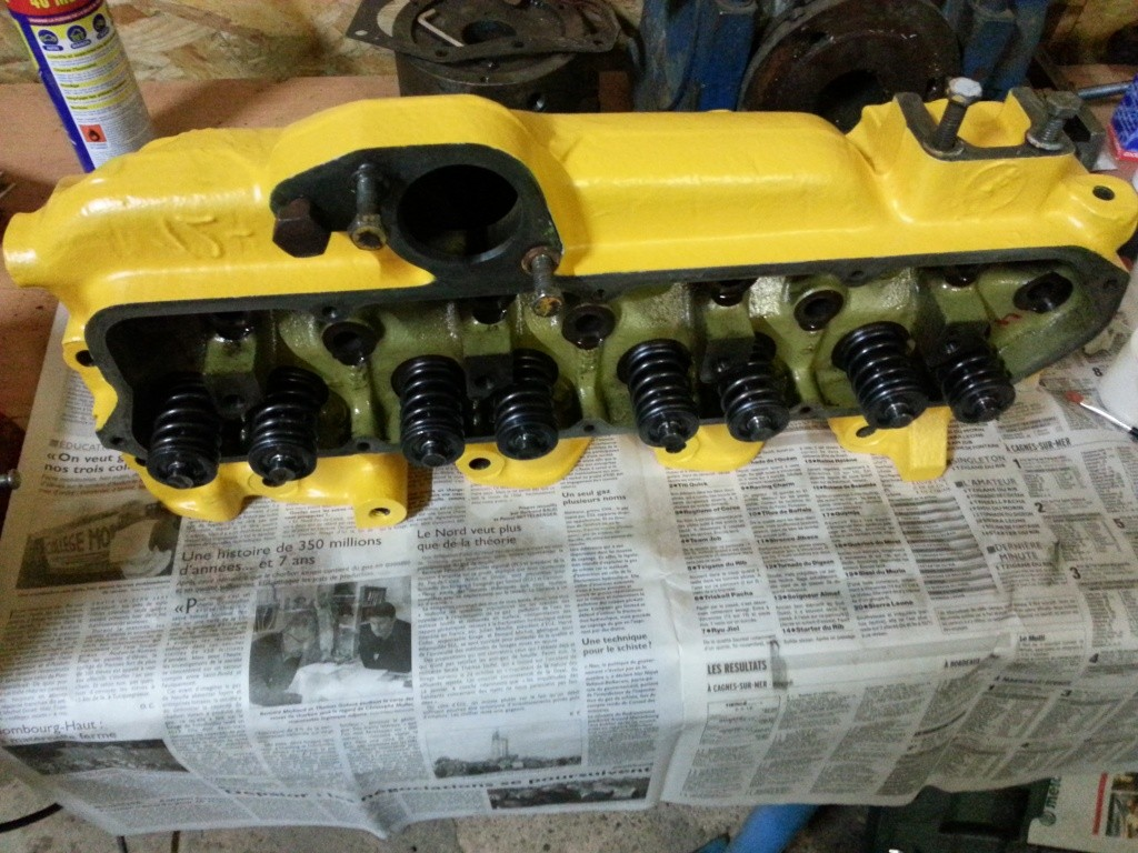 Restauration Tractopelle John Deere JD410 - Page 2 20140811