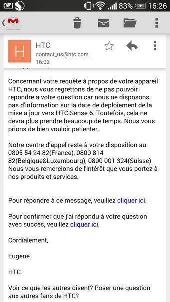 [INFO] MAJ sense 6 sur le HTC One M7 Bpibna10