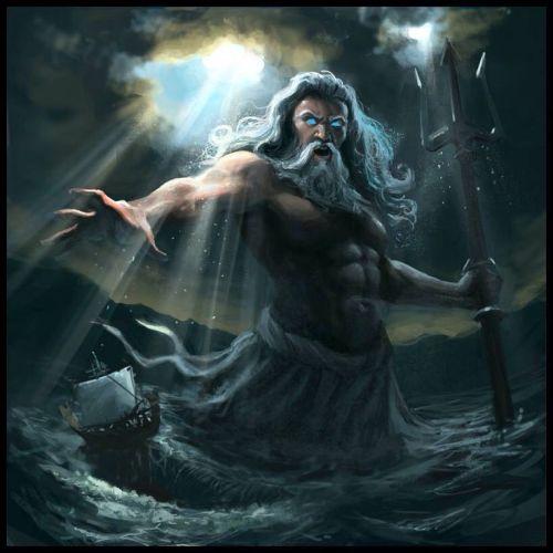 Poséidon - Dieu de la Mer et des Océans 90f13210