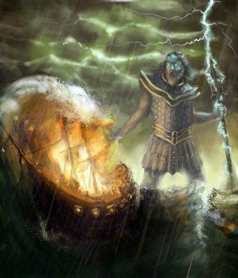 Poséidon - Dieu de la Mer et des Océans Poseid10