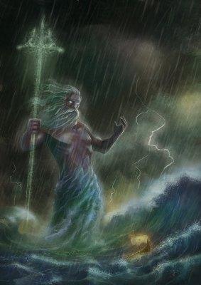 Poséidon - Dieu de la Mer et des Océans Poseid11