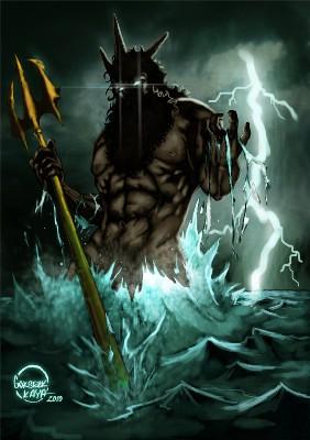 Poséidon - Dieu de la Mer et des Océans Poseid12