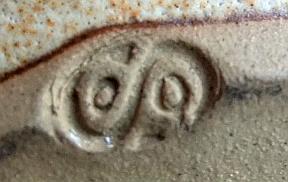 Tankard with dp mark - possibly Bert Simpson, Stonecroft Pottery?  Tankar12