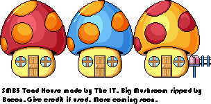 Toad House Tileset Unavng10