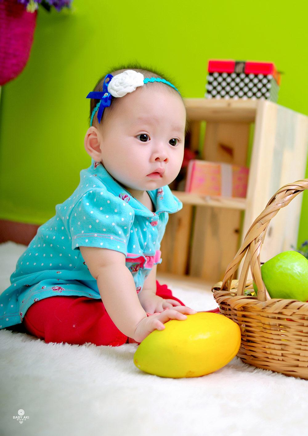 Ảnh bé Mun 5 tháng tuổi Akim1210