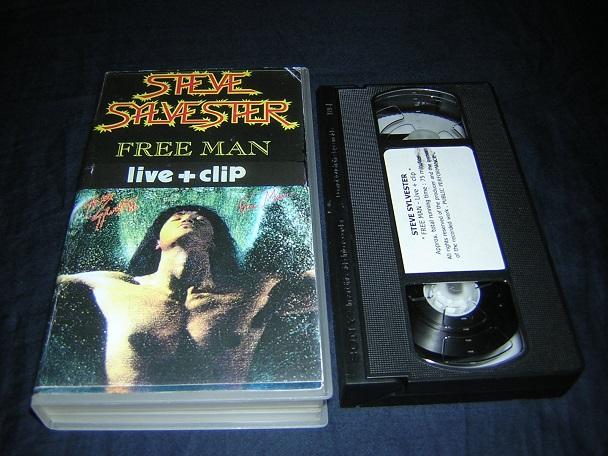 STEVE SYLVESTER Free Man Vhs_fr10