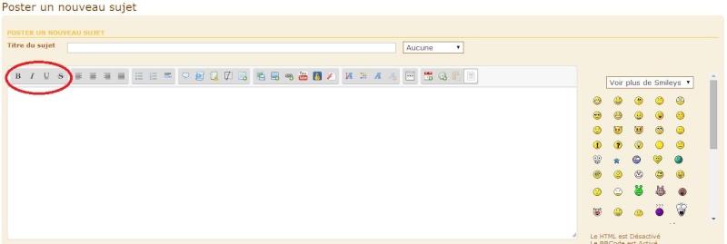 Comment utiliser les outils de mise en forme des sujets ? 1_barr11