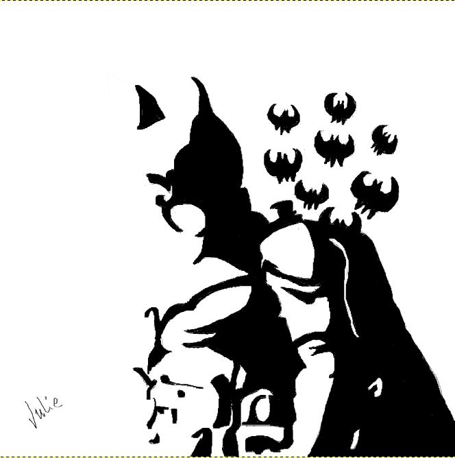 Mon premier dessin numérique Batman10