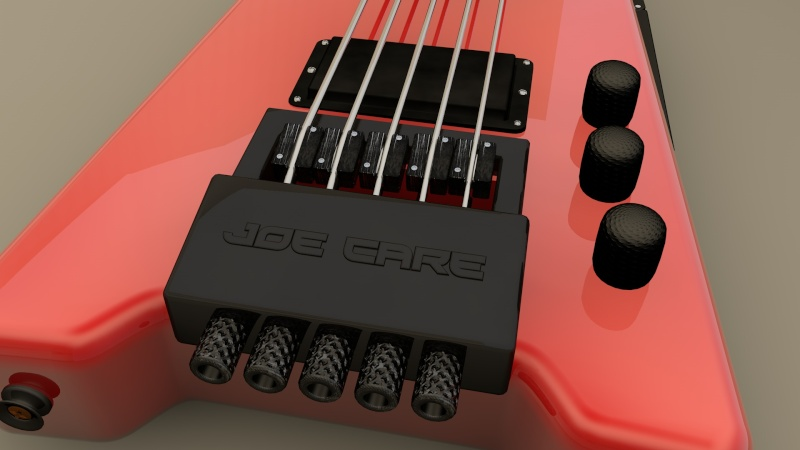 Stick-Bass Guitar Cheval10