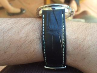 je suis déçu du bracelet! Omega312