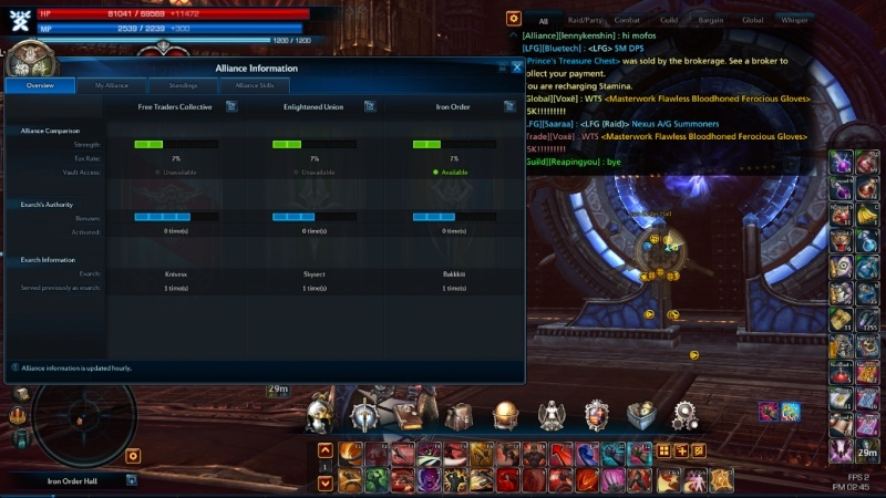 Vault of allies and solo Vault Tera_s25