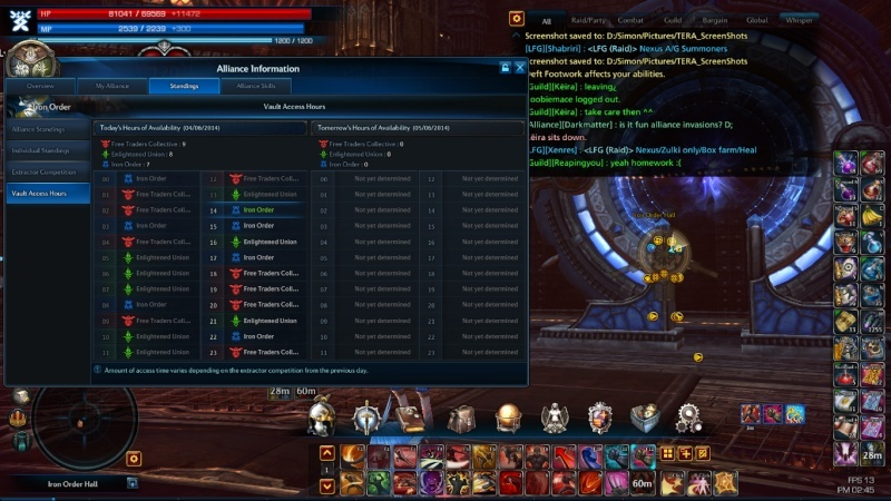 Vault of allies and solo Vault Tera_s27