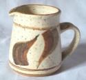 Stoneware jug - Colin Pearson? - probably early Clive C. Pearson.  100_1616