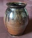Tenmoku vase, impressed mark AL 100_1661