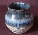 William (Bill) Hedge, Hedgecraft Pottery - WJH mark  100_1688