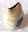 Stoneware vase. Marked Cm in an octagon Id70210