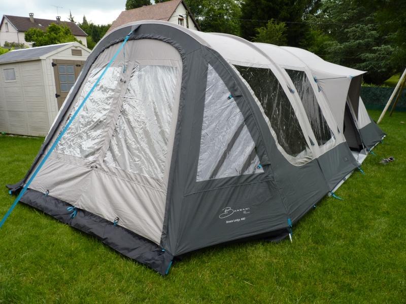 montage tente Bardini Dream Lodge 400 P1020727
