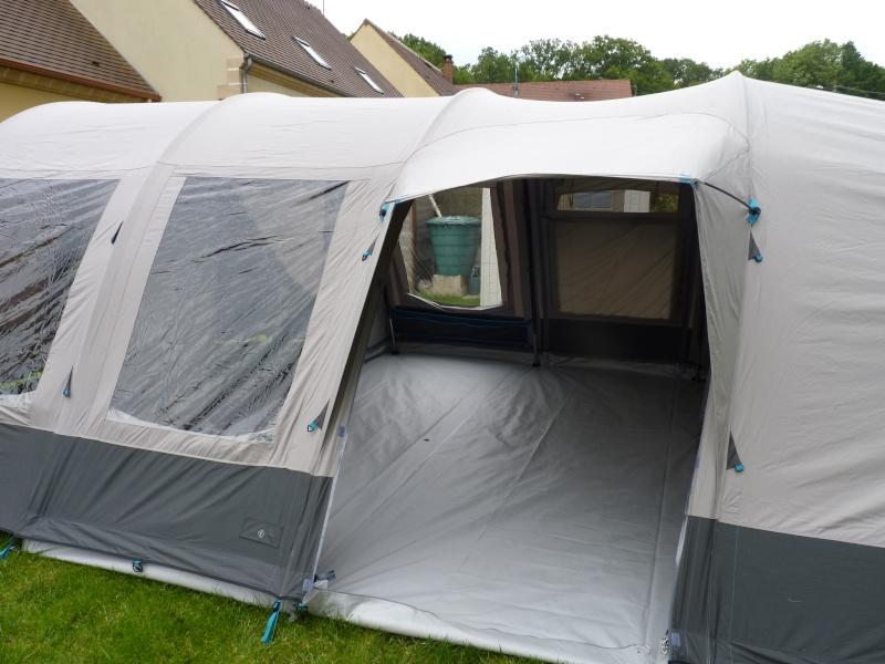 montage tente Bardini Dream Lodge 400 P1020728